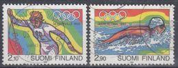 FINLANDIA 1992 Nº 1127/28 USADO - Gebraucht