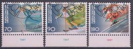 LIECHTENSTEIN 1997 Nº 1103/05 USADO PRIMER DIA - Liechtenstein
