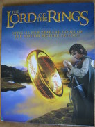 New Zealand 2003 LORD OF THE RINGS 18 X 50 Cents UNC Coin Set Royal Mint Folder - New Zealand
