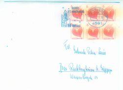 """Nikolausdorf (Tagesstempel) + Werbestempel """"Büro St Nikolaus Fernbrief - Weihnachten"""