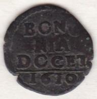 Paul V / Paolo V. Quattrino 1610 Bologna. KM# 13 - Vatican