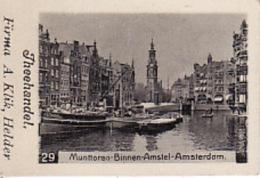 193783Theehandel. Firma A. Klik, Helder Nr. 29 Muntoren-Binnen-Amstel-Am Sterdam - Reklame