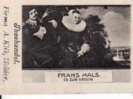 193786Theehandel. Firma A. Klik, Helder Nr. 125 Frans Hals En Zijn Vrouw - Reklame
