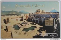 GUATEMALA - Colonial Guatemala-Templo Y Convento De La Merced - Tarjeta 3, Telgua-110, Used - Guatemala