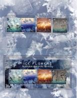 Australian Antarctic 2016 Ice Flowers Presentation Pack - Unused Stamps