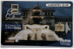 GUATEMALA - Fountain , Telgua-154, Used - Guatemala