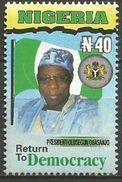 Nigeria -  2000 President Obasanjo 40N MNH **    Sc 712 - Nigeria (1961-...)