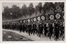 III. Reich, Propaganda  Karte, Reichsparteitag Nürnberg 1933, - Guerre 1939-45