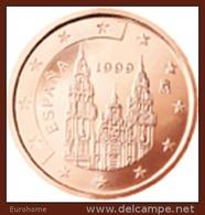 Spanje   2003     2 Cent        UNC Uit De Rol  UNC Du Rouleaux  !! - Espagne