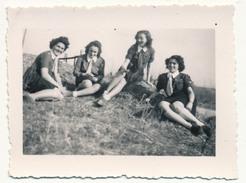 SCOUTISME - 18 Petites Photos - Guides De France - Camp à Langeais - 1937 - Scoutisme