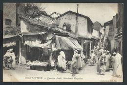 +++ CPA - Afrique - Algérie - CONSTANTINE - Quartier Arabe - Marchands Mozabites  // - Constantine