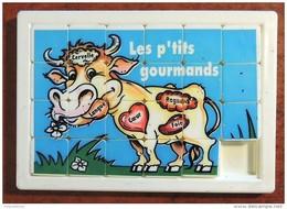 Taquin - Pousse Pousse - Les P'tits Gourmands - Vache - Bourbon - Brain Teasers, Brain Games