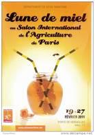 76 - LUNE DE MIEL - Abeille - Seine Maritime Salon International De L'agriculture à Paris Février 2011 - France