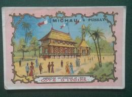 PUSSAY (SEINE ET OISE ) - MICHAU - APPROVISIONNEMENT GENERAUX - COTE D'IVOIRE -  11 X 7,5 Cm - Vieux Papiers
