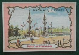 PUSSAY (SEINE ET OISE ) - MICHAU - APPROVISIONNEMENT GENERAUX - PORTE DES INVALIDES -  11 X 7,5 Cm - Vieux Papiers