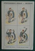 PUSSAY (SEINE ET OISE ) - MICHAU - HISTOIRE SANS PAROLE  - 12 X 8 Cm - Vieux Papiers