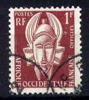 AOF - S1° - MASQUE - A.O.F. (1934-1959)