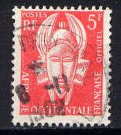 AOF - S3° - MASQUE - A.O.F. (1934-1959)