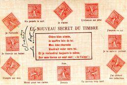 LE SECRET DU TIMBRE - Briefmarken (Abbildungen)