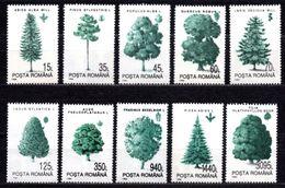 1994 ROMANIA TREES MICHEL: 4982-4991 MNH ** - Nuovi