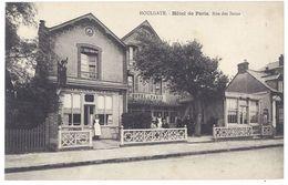 Cpa  Houlgate - Hôtel De Paris - Rue Des Bains ( Chastanet Propriétaire ) - Houlgate
