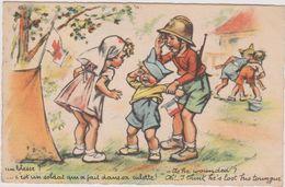 Illustrateur Bouret Germaine  Un Blesse - Bouret, Germaine