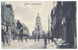 Cpa  Lens - Hauptstrabe  ( Hauptstrasse ) - Lens