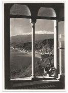 Z4202 Taormina (Messina) - Panorama Da Una Finestra Dell'Hotel Beausejour / Non Viaggiata - Autres Villes