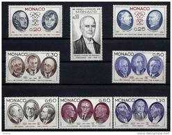 """Monaco YT 1043 à 1050 """" Conseil Littéraire De Monaco """" 1976 Neuf** - Unused Stamps"""