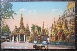 Myamar Shrines Shwe Dagon Pagoda Rangoon  Cpa Burma - Myanmar (Birma)
