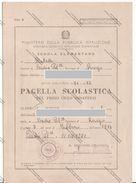 PAGELLA SCOLASTICA DEL 1971 DI BADIA POLESINE ROVIGO - - Documenti Storici