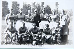 A.S. Cannes 1936-37 - Calcio