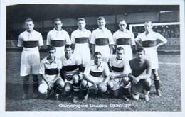 Olympique Lillois 1936-37 - Calcio