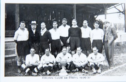 Racing Club De Paris. 1936-37 - Calcio