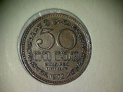 Sri Lanka 50 Cents 1972 - Sri Lanka
