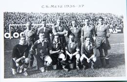 C.S. Metz. 1936-37 - Football