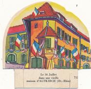 LA VACHE SERIEUSE - Le 14 Juillet à Altkirch - Découpis