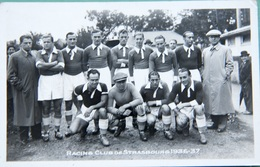 Racing Club Se Strasbourg. 1936-37 - Soccer