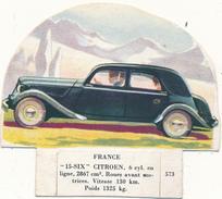 """LA VACHE SERIEUSE - Automobile """"15 Six"""" Citroen - 573 - Découpis"""