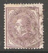 005392 Portugal 1880 25 Reis FU Perf 12.5 - 1862-1884 : D.Luiz I