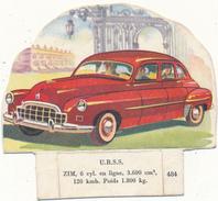 LA VACHE SERIEUSE - Automobile Zim, URSS - 484 - Découpis