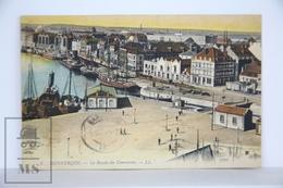Postcard France - Dunkerque - Le Bassin Du Commerce - Harbour, Old Boats - Dunkerque