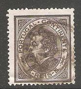 005394 Portugal 1880 5 Reis FU Perf 13.5 - 1862-1884 : D.Luiz I