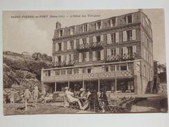 Saint-Pierre-en-Port, L'hôtel Des Terrasses. - Frankreich