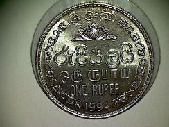 Sri Lanka 1 Rupee 1994 TTB - Sri Lanka