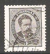 005399 Portugal 1880 5 Reis FU Perf 11.5 - 1862-1884 : D.Luiz I