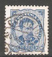 005403 Portugal 1886 50 Reis FU Perf 11.5 - 1862-1884 : D.Luiz I