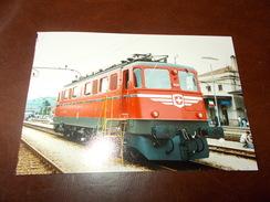 B669  Foto Stazione Di Luino Treno Cm15x10 - Fotografia