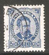 005404 Portugal 1886 50 Reis FU Perf 11.5 - 1862-1884 : D.Luiz I
