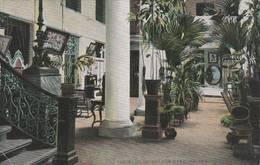 Cuba - Hotel Florida , The Yard -   Havana  - 2 Scan - Cuba